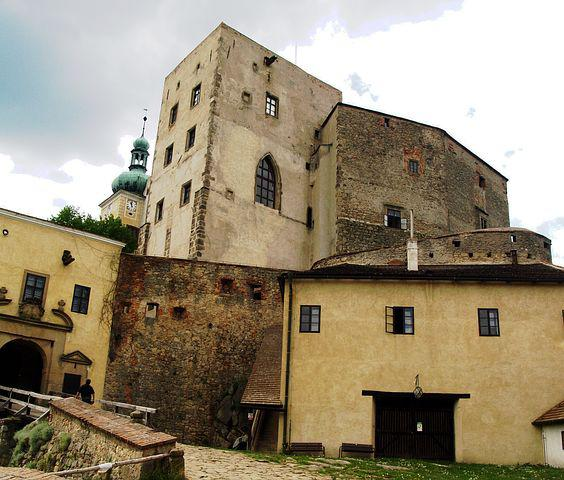 Buchlov, Castle, Strength, The Walls Of The, Monument