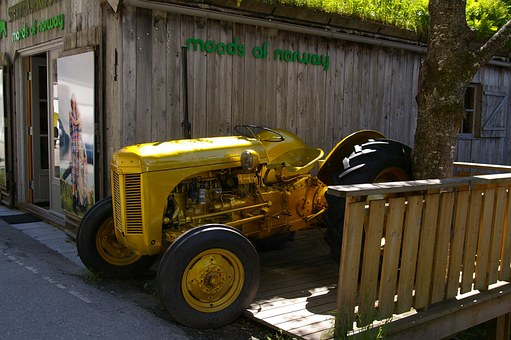 Tractors, Historically, Tractor, Oldtimer, Old, Classic