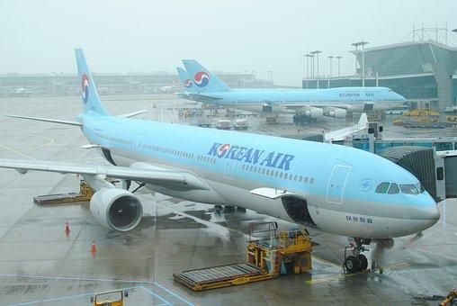 Incheon International Airport, Plane, Travel