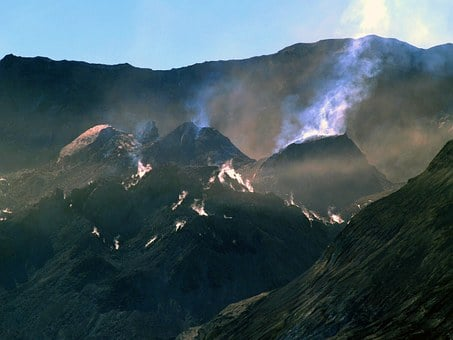 Mount St, Helens, Washington State, Volcano, Usa, Lava
