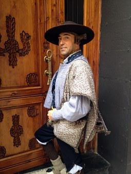 Baturro, Fiestas Del Pilar, Saragossa, Aragon, Abutment