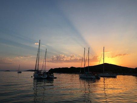 Adriatic Sea, Croatia, Yacht, Marina, Port, Dalmatia