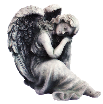 Angel, Cherub, Symbol, Heaven, Religion, Statue, White