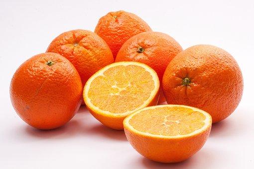 Oranges, Navel Oranges, Bahia Orange, Citrus Sinensis