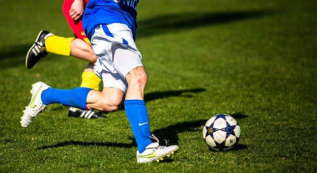 Football, Duel, Rush, Ball, Sport, Footballers, Fielder