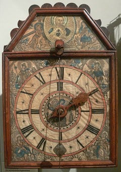 Cuckoo Clock, Black Forest, Clock, Digits, Clock Face