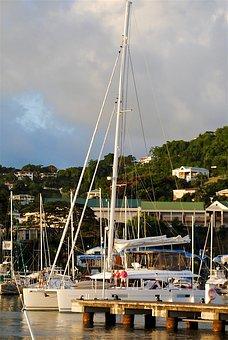 Catamaran, Sailboat, Sail, Travel, Boat, Vacation