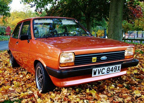 Mk1, Fiesta, Classic, Car, Retro, Vintage, Vehicle, Old