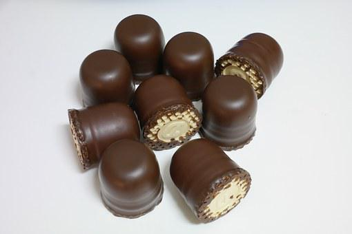 Mohr Heads, Chocolate Icing, Glaze, Confectionery
