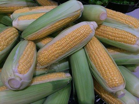 Corn, Pastel, Sweet, Light Green, Cream Color