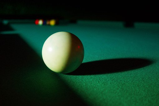 Billiard, Pool, Cue Ball, Game, Table, Shot, Sport