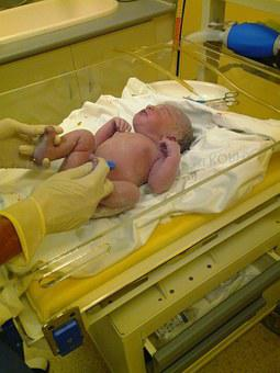 Birth, First Breath, Baby, Delivery Room, Navel, Care