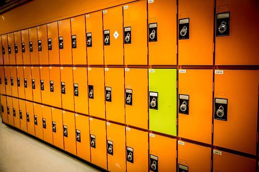 Odd, Different, Lockers, Row, Difference, Individual
