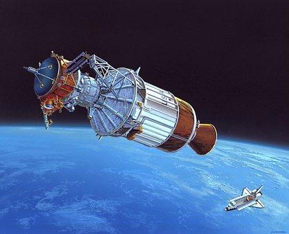 Ulysses, Space, Universe, Art, Drawing, Spacecraft