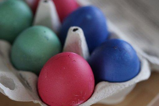 Egg, Eggs Felt, Colorful Eggs, Easter Eggs, Colored