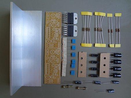 Electronics, Resistors, Amplifier Module