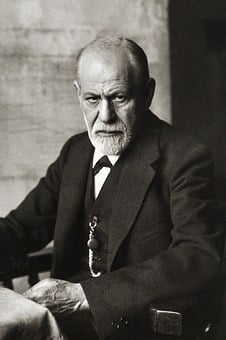 Sigmund Freud, Portrait 1926, Founder Of Psychoanalysis