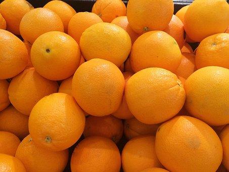 Orange, California Production, Fruit, Pile Up