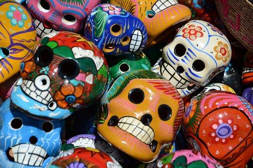 Mexico, Calaveritas, Calavera, Holiday, Folklore