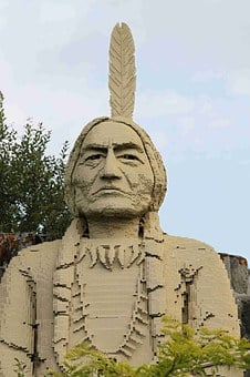 Lego, Toys, Children, Module, Indians, Indian Chief