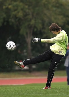 Soccer, Kick, Football, Player, Game, Kicker