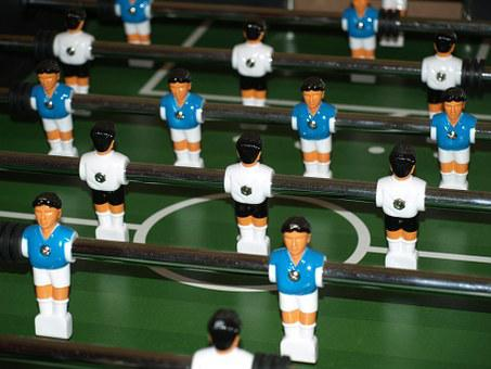 Table Football, Kicker, Soccer Table, Fun, Sport