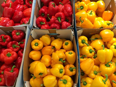 Paprika, Yellow, Huang, Red, Seiyu Ltd, Living
