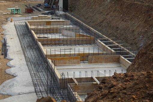 Foundations, Reinforced Concrete, Building, Masonry