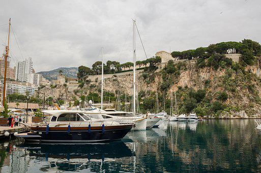 Monaco, South Of France, Côte D ' Azur, Mediterranean