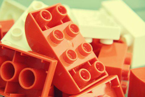 Lego Duplo, Build, Module, Macro, Close