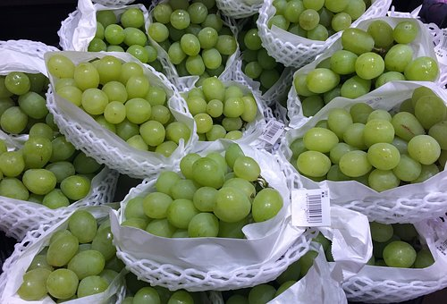 The Grapes, Muscat, Juicy, Sweet, Autumn, Green