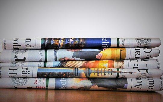 Newspaper, Paper, Newsprint, Daily Newspaper