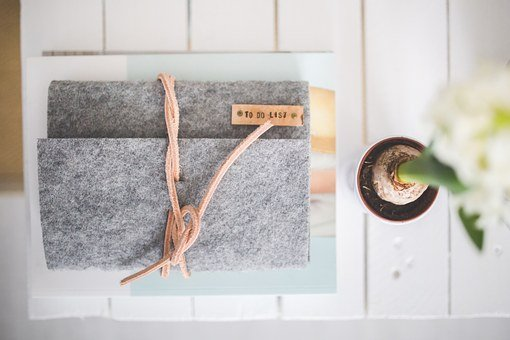 Journal, Notebook, Note, Felt, Organizer, Calendar
