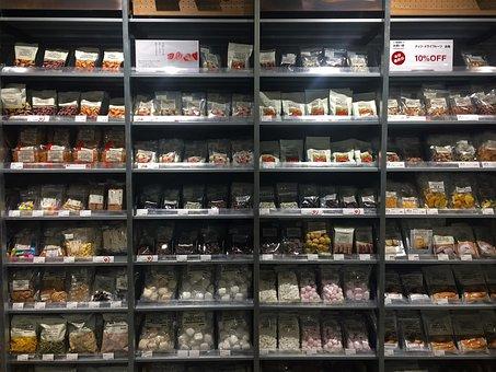 Mujirushi Ryohin, Dry Foods, Nuts, Chocolate