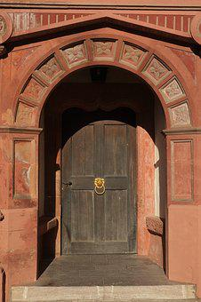 Door, Archway, Input, Architecture, Portal, Ornament