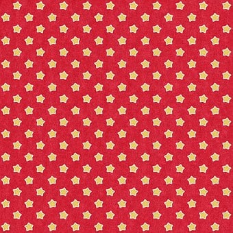 Pattern, Felt, Background, Paper, Red, Yellow, Star