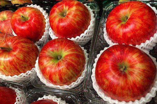 Apple, Red, Seiyu Ltd, Living, Supermarket