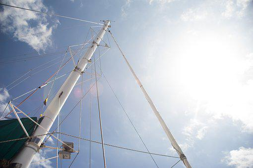 Sailing, Mast, Boat, Sail, Ship, Sea, Yacht, Sailboat