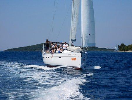 Bavaria 46 Cruiser, Sailing Boat, Croatia, Sea