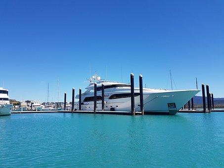 Yacht, Sea, Ocean, Summer, Travel, Boat, Water