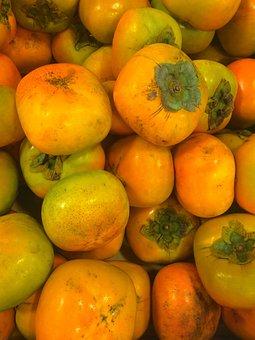 Persimmon, Fruit, Autumn, Seiyu Ltd