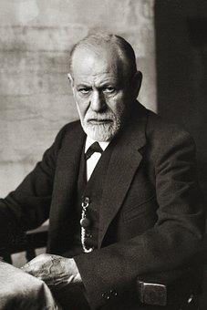 Sigmund Freud, Portrait 1926, Founder Of Psychoanalysis
