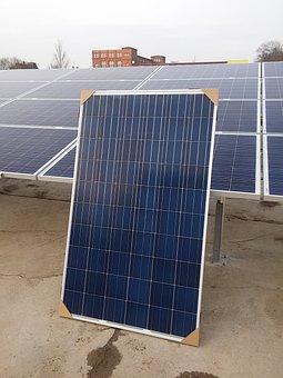 Photovoltaic, Solar Energy, Solar, Sun, Blue, Pv Plant