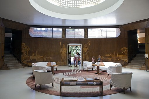 Eltham Palace, South London, Grand Entrance Hall