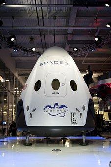Spacecraft, Spacex, Spaceship, Space Module, Capsule