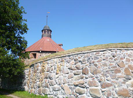 Korela, Fortress, Tower, Stone Wall, Stone Masonry