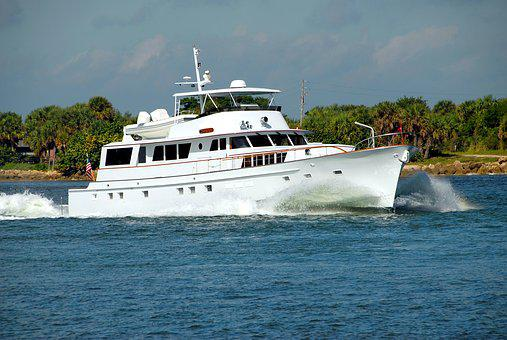 Luxury Yacht, Boat, River, Motion, Sea, Water, Travel