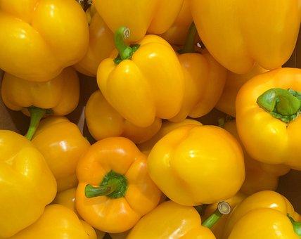 Paprika, Yellow, Huang, Seiyu Ltd, Living, Supermarket
