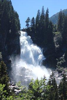 Krimml, Waterfall, Alps, Austria