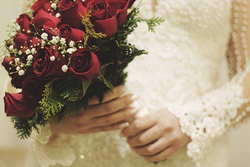 Bloom, Blossom, Bouquet, Bride, Flora, Flowers, Roses